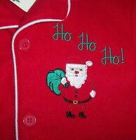 Skyr Red Lightweight Fleece Pajama Set 6 Boys Santa Claus Xmas Ho Green Soft