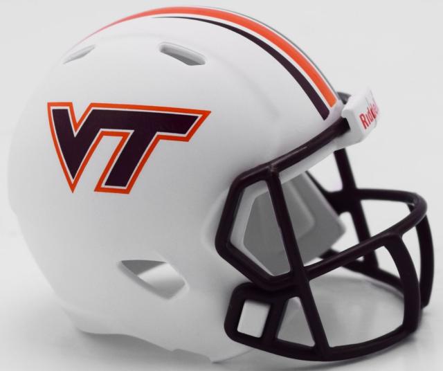 VIRGINIA TECH HOKIES NCAA Football Helmet CHRISTMAS TREE ...