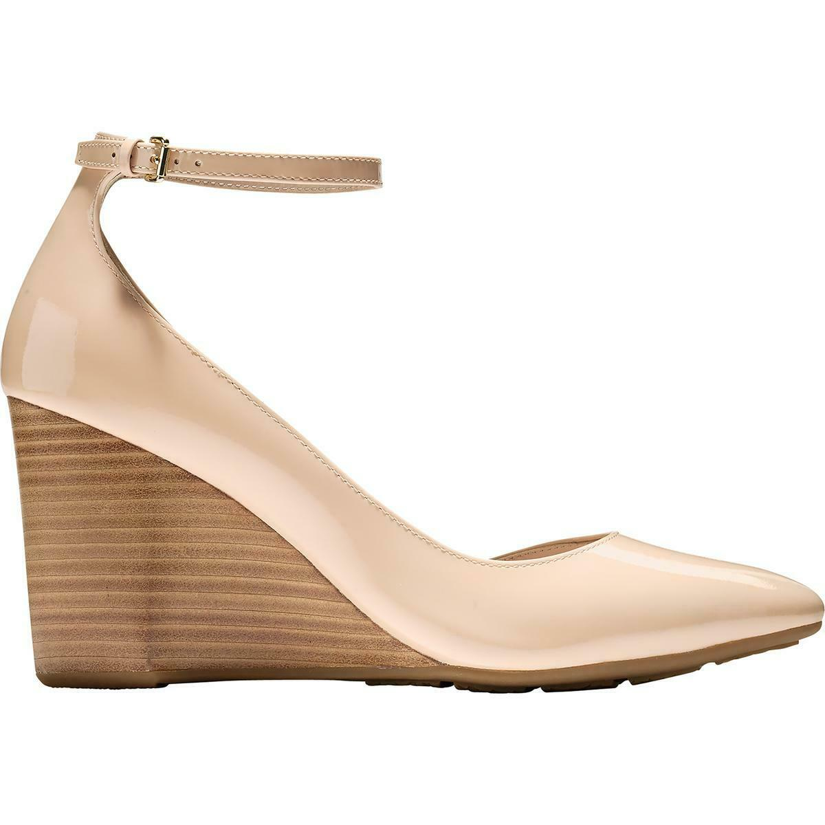Cole Haan Womens Lacey Patent Ankle