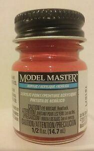 Image Is Loading Testors Model Master Acrylic Paint 4631 Italian Red