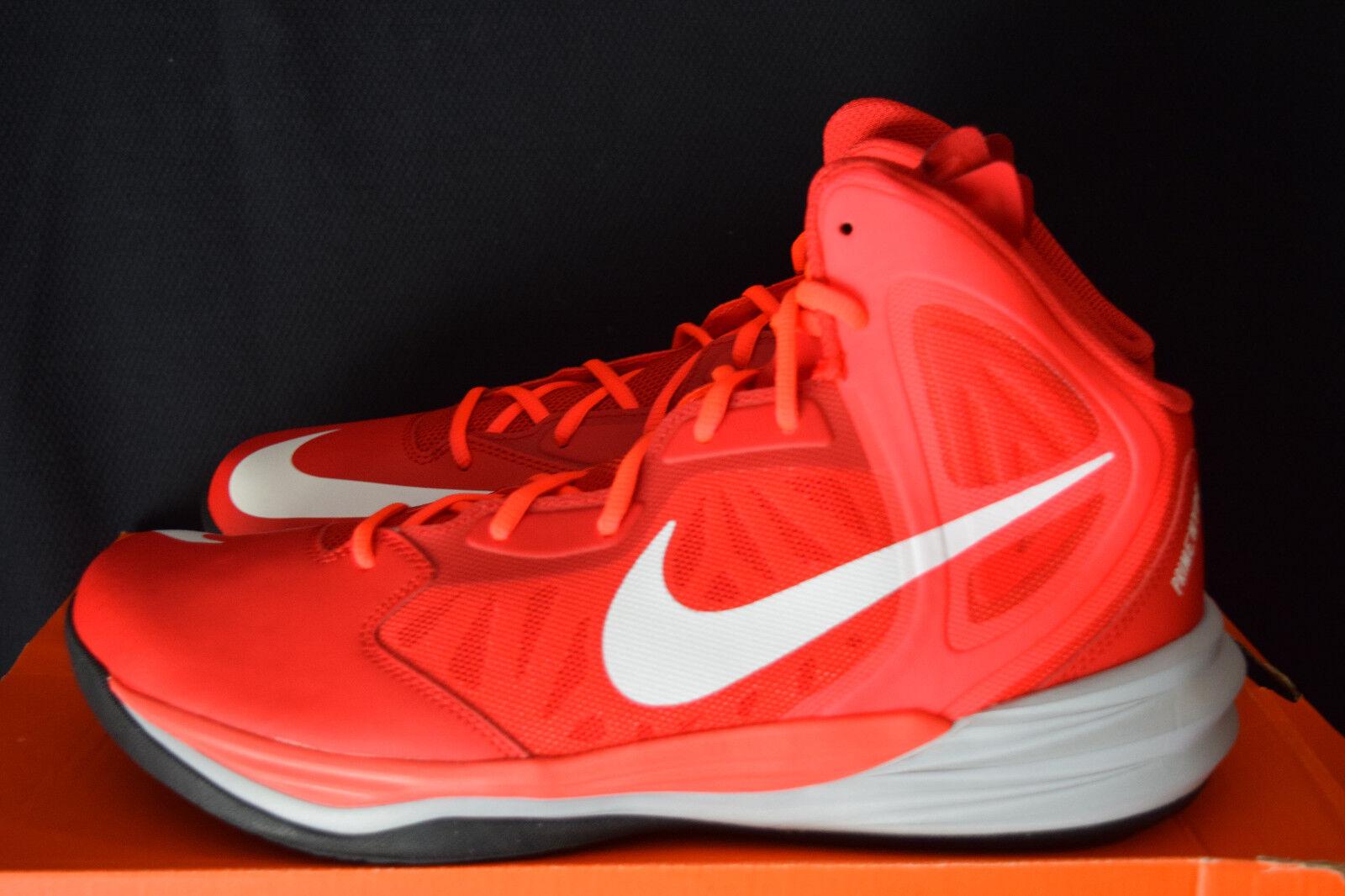 New in box nike prime - hype - mens 13 ersten basketball - schuhe im ersten 13 team rot - weiß - ca714e