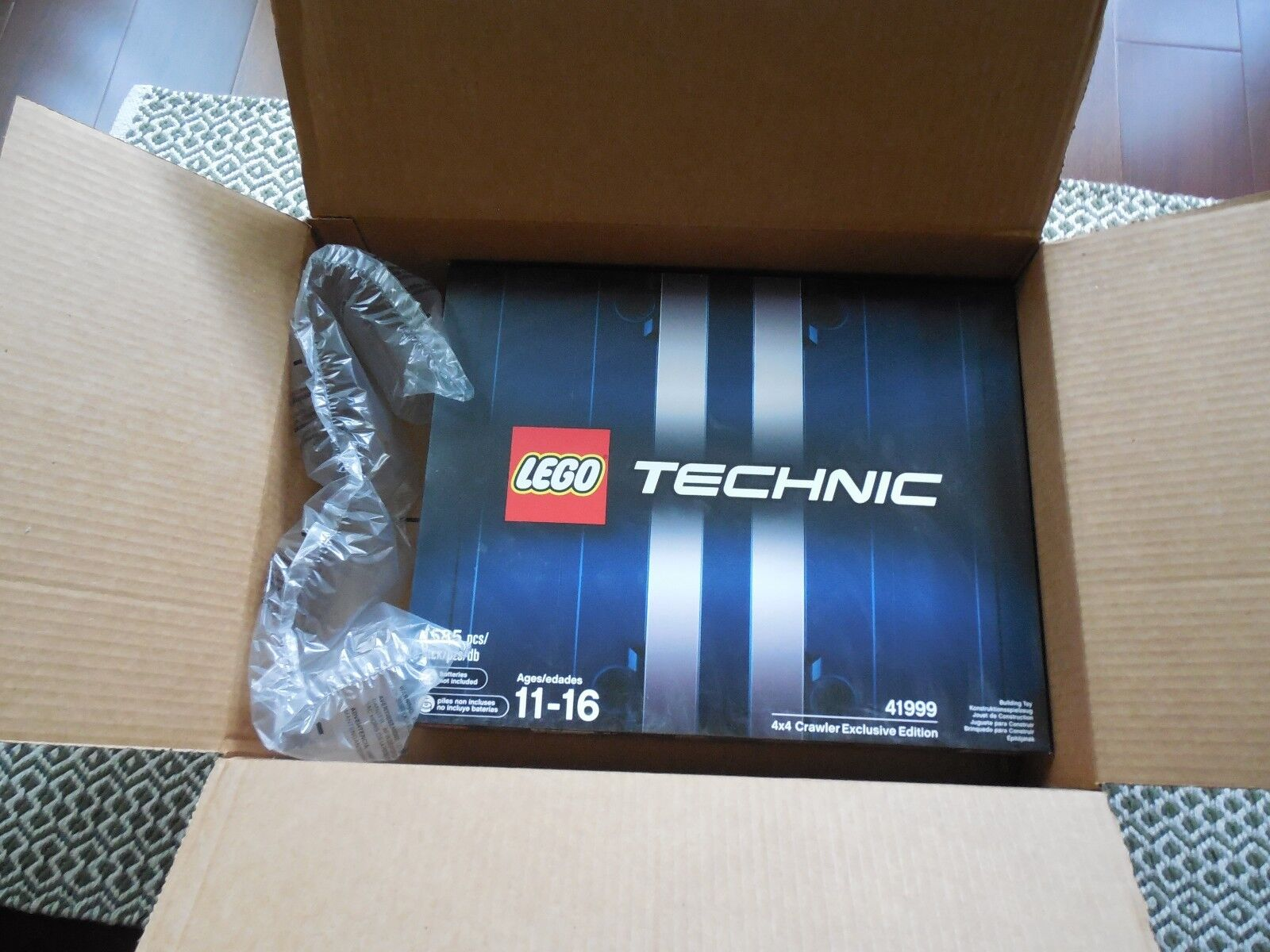 LEGO Set 41999 Technic 4x4 Crawler Exclusive Edition Retired BRAND NEW