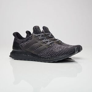 quality design 8367e 6c972 Image is loading Adidas-Ultra-Boost-3-0-Triple-Core-Black-