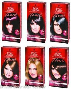 Image Is Loading Schwarzkopf Hair Color Poly 10 Shades To