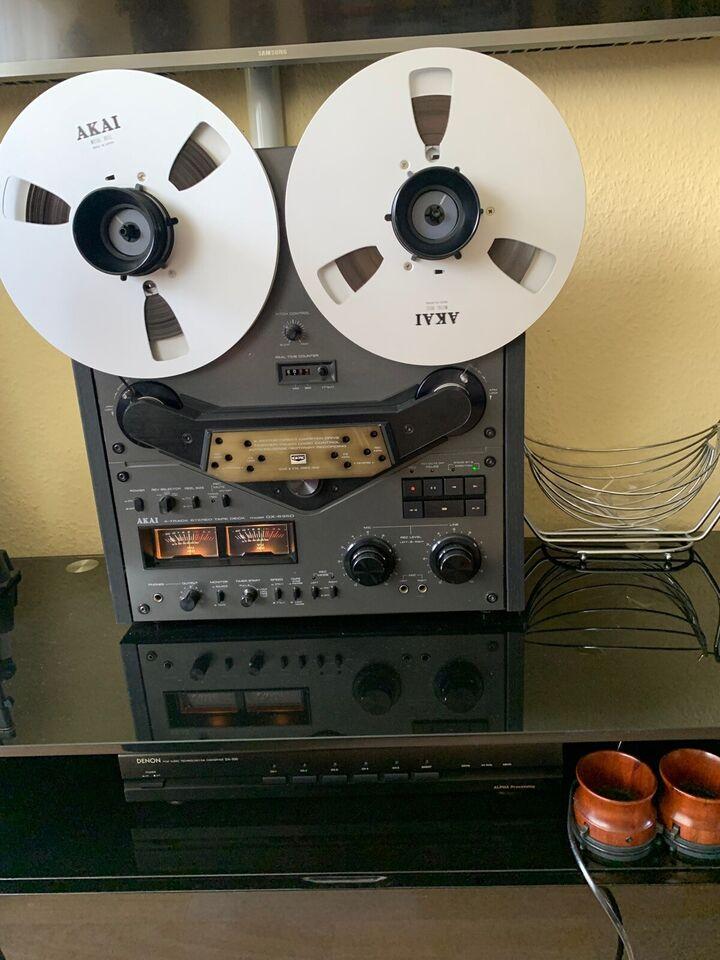 Spolebåndoptager, Akai, GX-635D