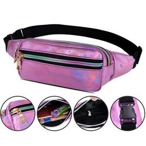 9ed086f64354 Details about Women Men Travel Waist Fanny Pack Money Belt Wallet Bum Pouch  Bags GIFT