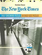 The New York Times Daily Crossword Puzzles, Volume 55