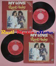 LP 45 7'' ROSY & ANDRES My love Vielleicht noch funf minuten 1976 no cd mc dvd