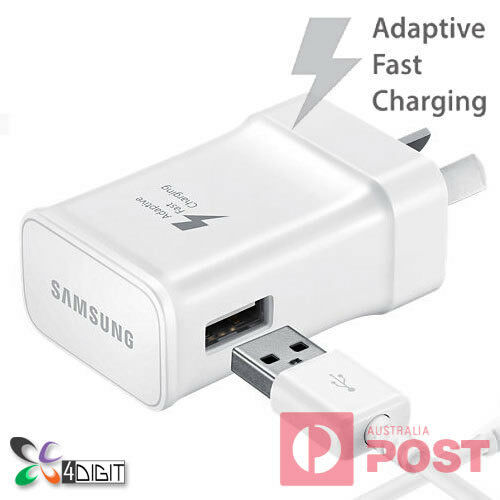 Original Genuine Samsung Galaxy A3 A5 A7 2017 FAST CHARGER AC WALL CHARGER+CABLE