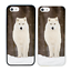 Animaux-Arctiques-Pare-Chocs-Coque-Apple-iPhone-5-5s-SE-6-6s-7-8-Plus-X-XS-XR miniature 14