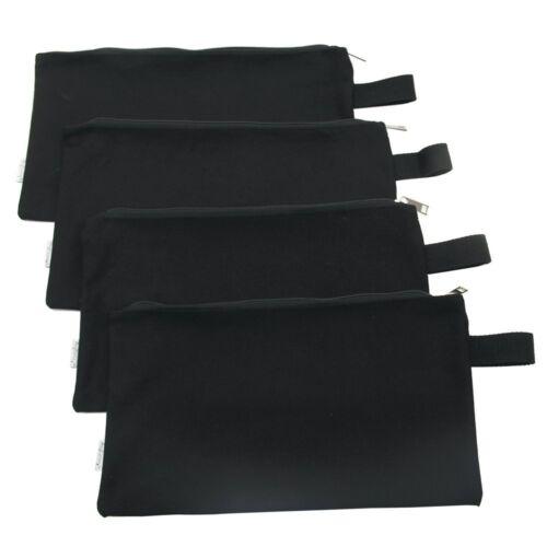 Augbunny 100/% Cotton 16Oz Heavy Duty Multi-Purpose Canvas Zipper Tool Bag Organi