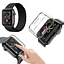 CINTURINO-COVER-VETRO-TEMPERATO-9H-per-Apple-Watch-5-4-3-2-44-42-40-38-mm miniatura 13