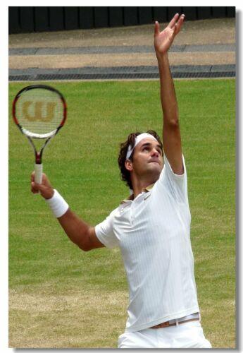 Roger Federer Grand Slam Tennis stars Art Wall Cloth Poster Print 501