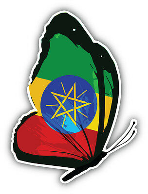 "Grenada Flag Butterfly Car Bumper Sticker Decal /'/'SIZES/"""