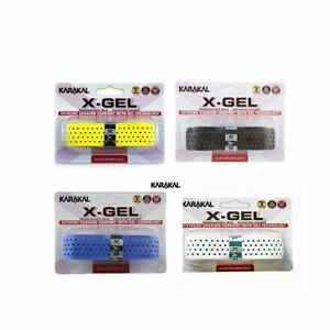 Karakal-PU-X-Gel-Badminton-Tennis-Racchetta-Da-Squash-Grip-di-Ricambio-x-1