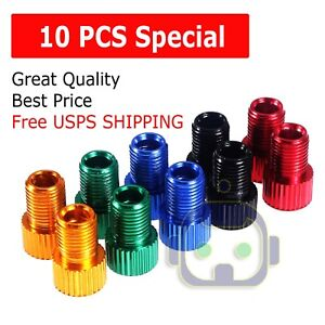 10pcs-Presta-to-Schrader-Valve-Adapter-Converter-Bicycle-Bike-Tire-Tube