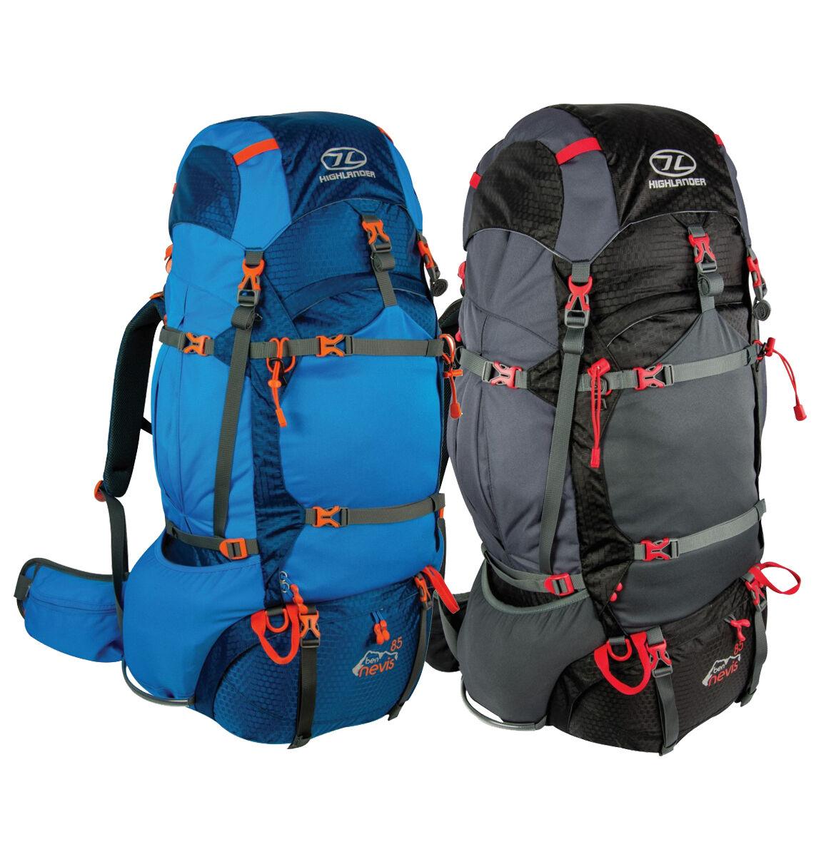 Ben Nevis Da 85 litriSistema di regolazione sul retro Zaino Zaino Campeggio Escursionismo