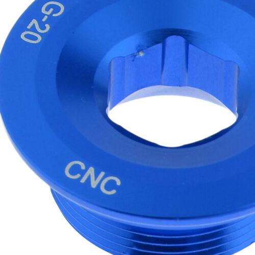 Blue Crankset Crank Arm Fixing Bolt M20 CNC Bracket Screw Bolts For SHIMANO