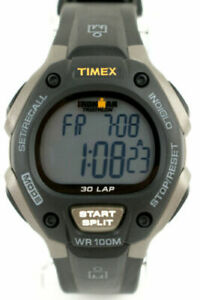 Timex-Ironman-30-Lap-Sport-Mens-Watch-100M-WR-Timer-Alarm-Chronograph-T5E901