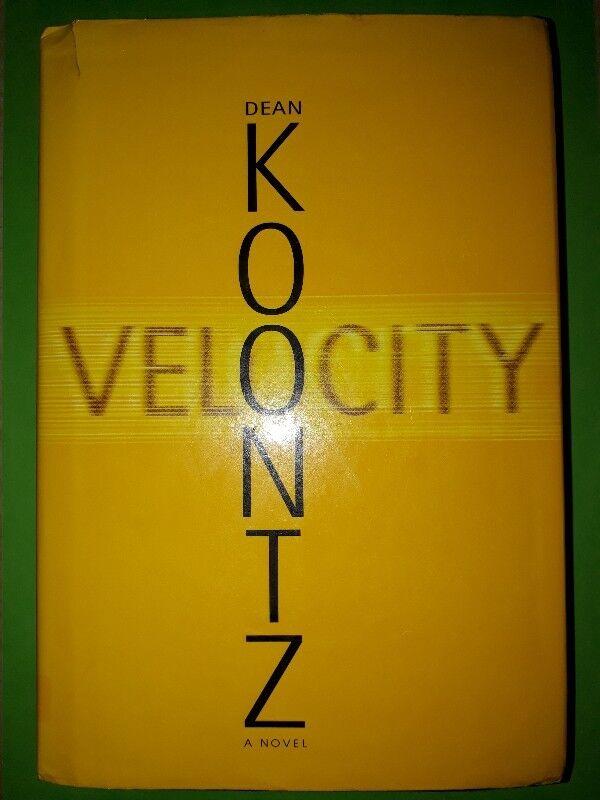 Velocity - Dean Koontz - Large Print.