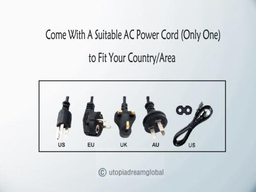 Neu Ac//Dc Adapter für Sceptre PS-1240APL6A SPU50A-3 Akku Ladegerät Netzgerät