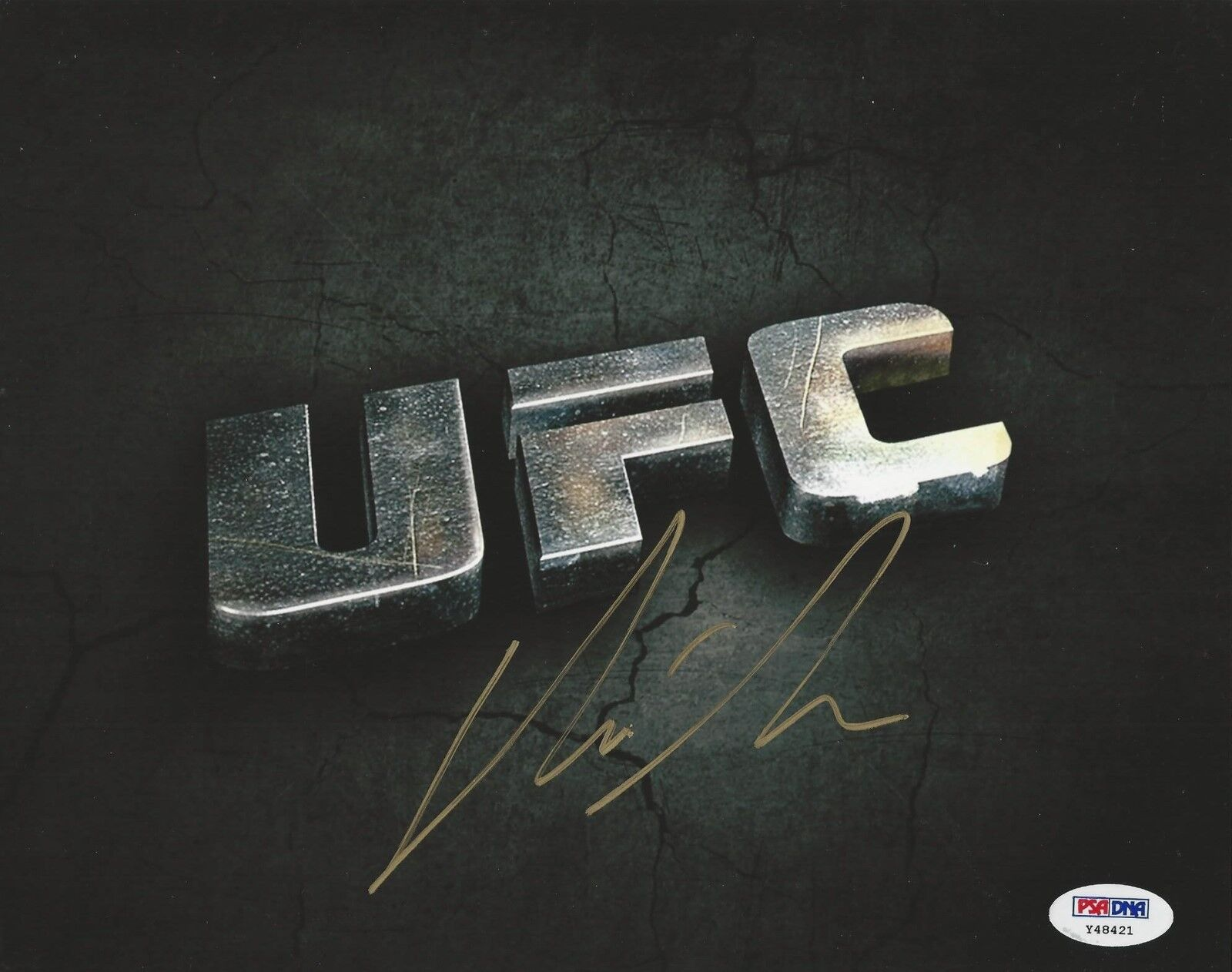 Chris Leben UFC Fighter signed 8x10 photo PSA/DNA # Y48421
