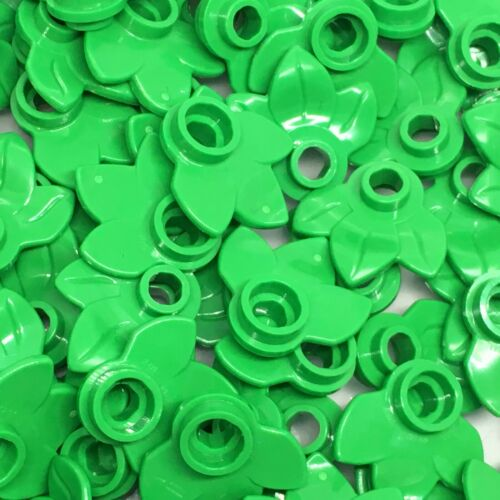 3 Leaves // Plant 32607 Lego 100 Bright Green New