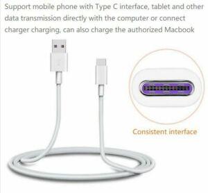 Huawei-SuperCharge-4-5-A-HW-050450B00-Adaptateur-de-chargeur-secteur-5-un-Type-C-cable-USB