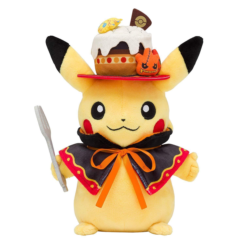 Pokemon Center Original Plush Doll Pikachu We Are TEAM TREAT   JAPAN OFFICIAL