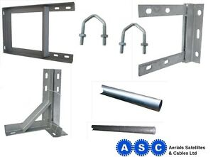 TV-AERIAL-POLE-BRACKET-TV-WALL-BRACKET-TV-ARIAL-MAST-GALVANISED-BRACKET-FREEVIEW