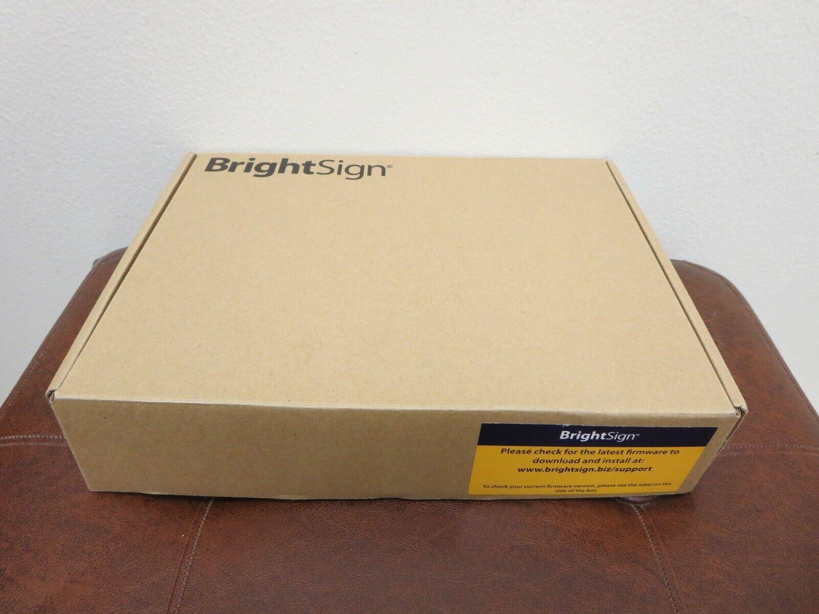 BrightSign XD230 Streaming Digital Signage Player - New OPEN BOX. NO SD CARD. brightsign digital new open player signage streaming xd230