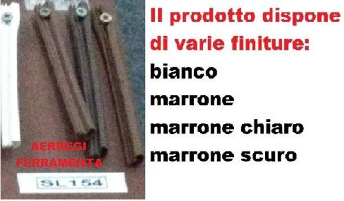 """GUARNIZIONI PER LEGNO IN PVC MOD./""""SL154/"""" FINITURE VARIE VENDITA A ROTOLI"""