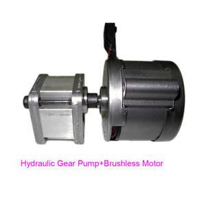 TRW-Hydraulic-Gear-Pump-W-Brushless-Motor-DIY-Hydraulic-Pump-Model-Excavator