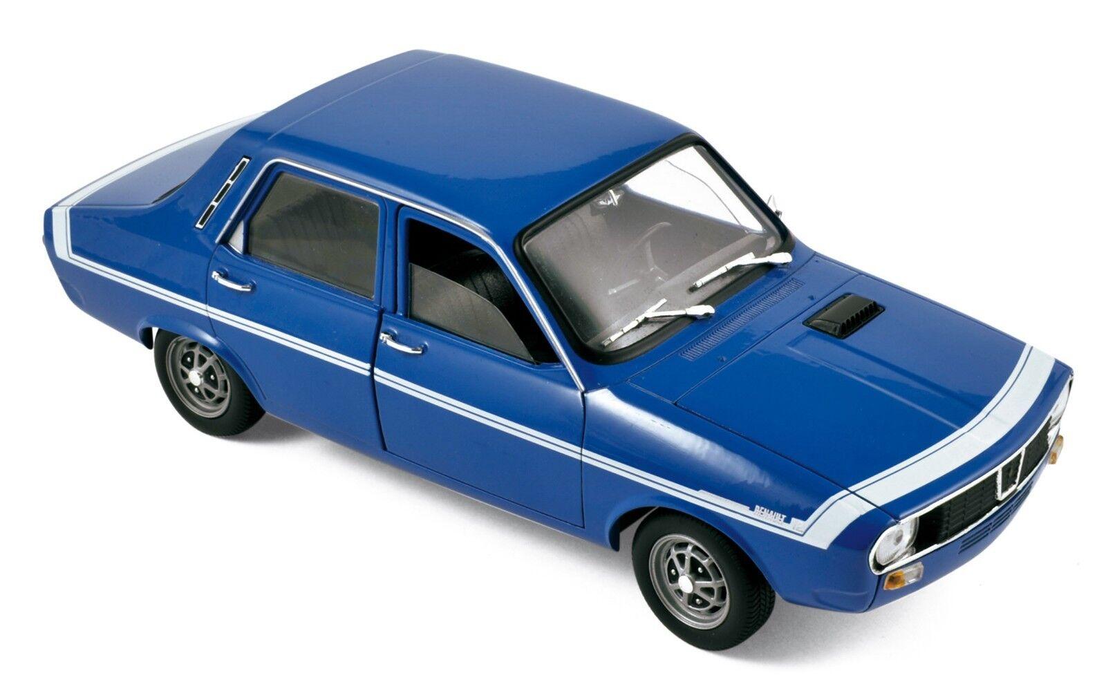 Stunning 1971 renault 12 gordini bluee France-norev 1 18 ° new in box