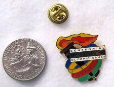 Centennial Olympic Games XXVI Olympiad Flame USA Lapel Pin Pinback Hat Torch