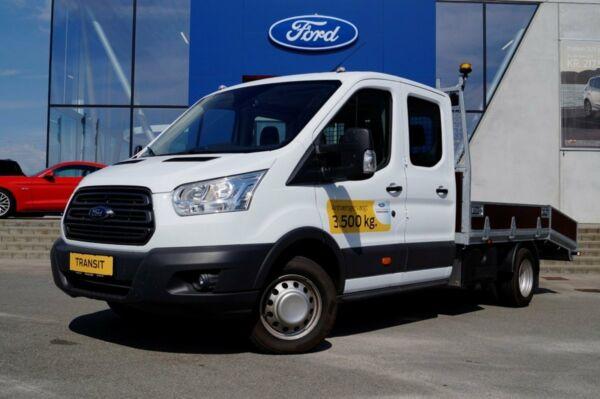Ford Transit 350 L4 Chassis 2,0 TDCi 170 Db.Cab Trend RWD - billede 1