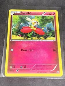 Pokemon Card Flabebe 63/106 Flashfire in Good Condition!
