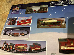 """Lemax -Carole Towne Express -Holiday Village Train Set  With 24"""" Circular Track"""