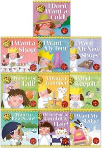 Little-Princess-Children-Collection-Tony-Ross-10-Book-Set-I-want-a-Shop-I-Want