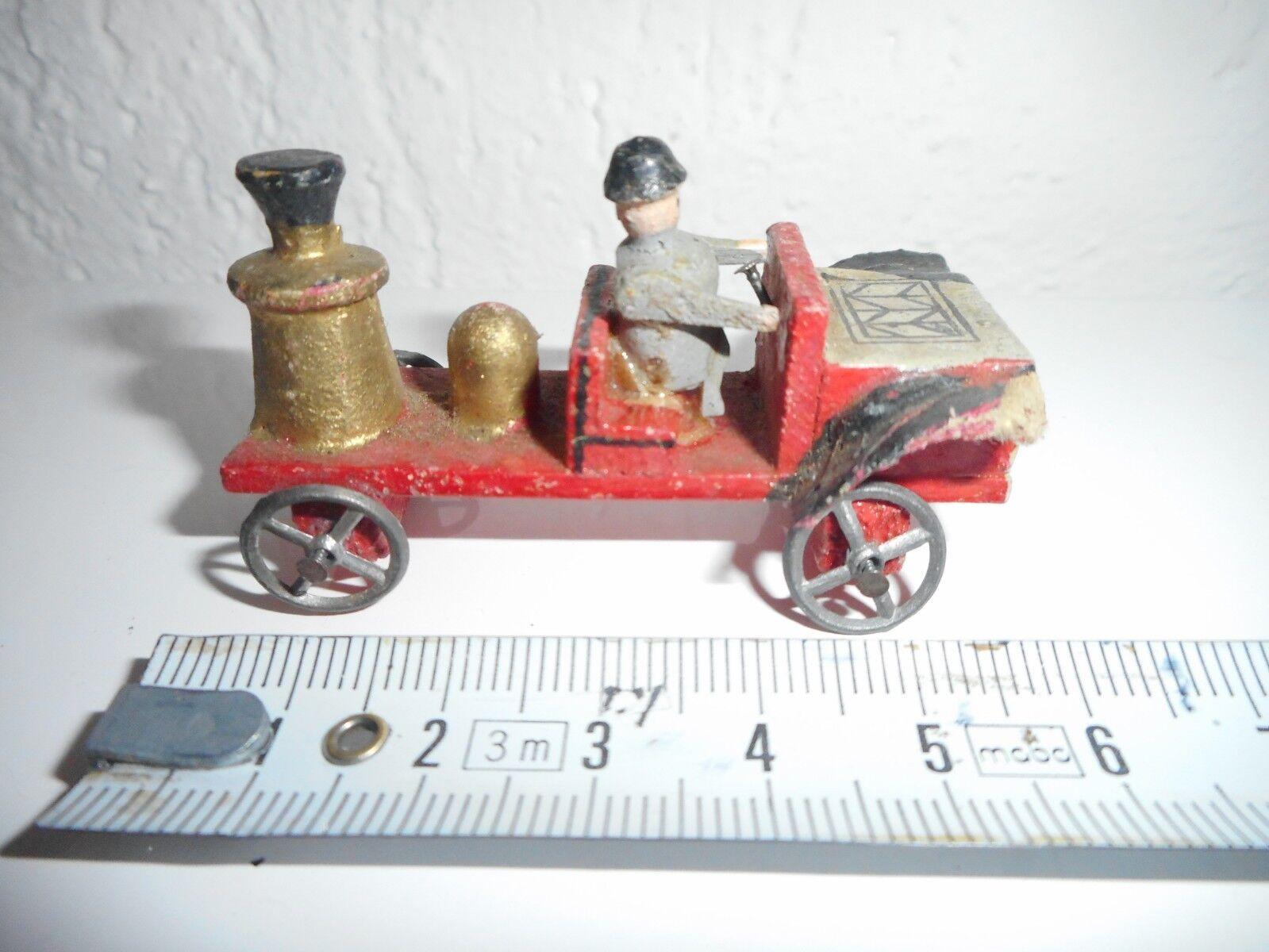 gerFemmey 1900 penny toys toys toys bois roues plomb 3 camions  pompier 5 cm ccb00b