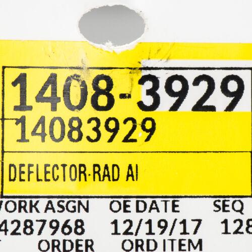 OEM NEW Lower Radiator Air Dam Deflector Z28 IROC RS Black 82-92 Camaro 14083929