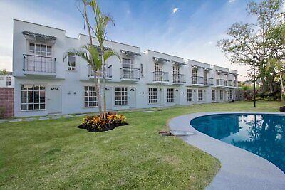 Casa nueva en venta de 2 recámaras con alberca a 25 minutos de Cuernavaca en condominio 36 casas.
