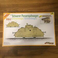 Dragon 6072 Schwerer Panzerspähwagen INFANTERIEWAGEN SSP 1//35 Scale Model