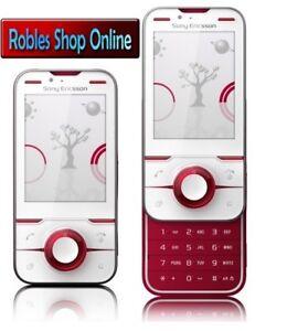 Sony-Ericsson-Yari-Cranberry-White-Simlock-Frei-5MP-BLITZ-3G-GPS-Sehr-Gut