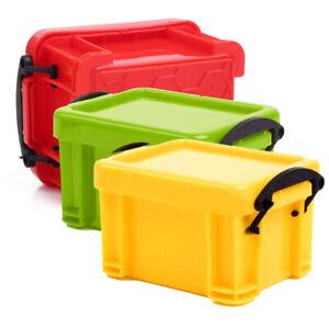 Boite-de-rangement-outil-pour-echelle-1-10-RC-Rock-Crawler-Camions-Modele-pieces-body-mini