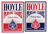 2 Decks Hoyle Standard Poker Playing Cards Red & Blue Brand Decks