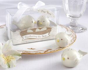 Bomboniere Matrimonio Sale E Pepe.Bomboniera Sale E Pepe Uccellini In Ceramica Nozze Idea Regalo