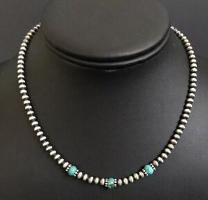 4mm Navajo Choker Necklace
