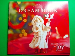 2004-HALLMARK-KEEPSAKE-DREAM-BOOK-CHRISTMAS-ORNAMENT-REFERENCE-CATALOG