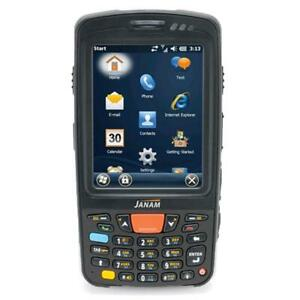 Janam XT85W Handheld Computer / Barcode Scanner GPS Camera Numeric keypad